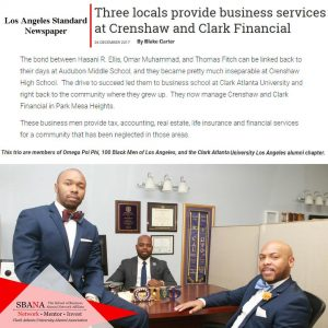 Crenshaw and Clark Financial (CAU School of Business Alumni)